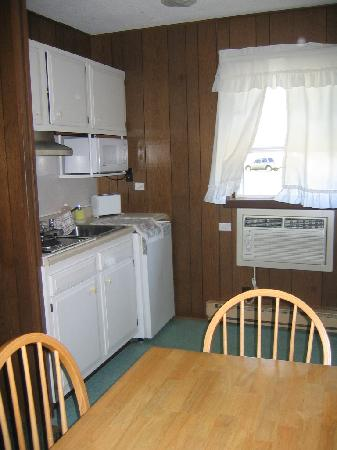 Jersey Cape Motel: nice kitchenette in room