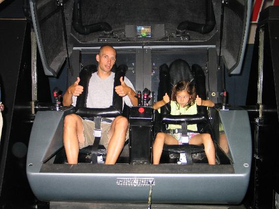 space shuttle simulator ride - photo #30