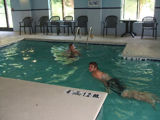 Comfort Inn & Suites - Lookout Mountain: Inside pool
