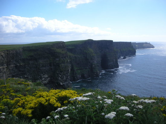 Clare (kontluk), İrlanda: Cliffs of moher