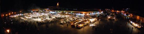 Djemaa El-Fna, Marrakech, Morocco
