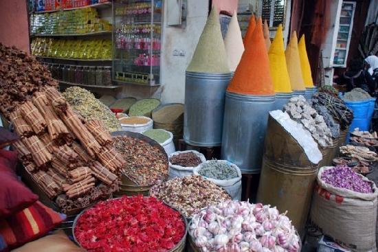 Spice Souk, Marrakech, Morocco