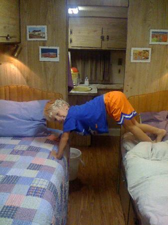 Springfield/Route 66 KOA: My five year old loved the beds