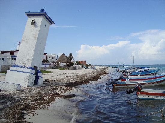 Casa La Petite France: Phare Puerto Morelos