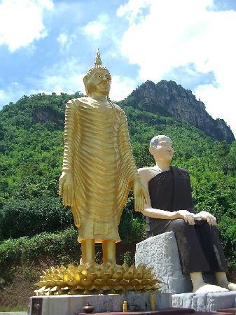 Chaiyaphum, Thailand: Buddha statue