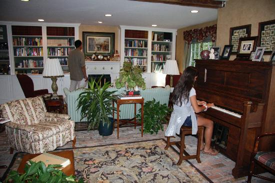 A Butler's Manor: In the living-room