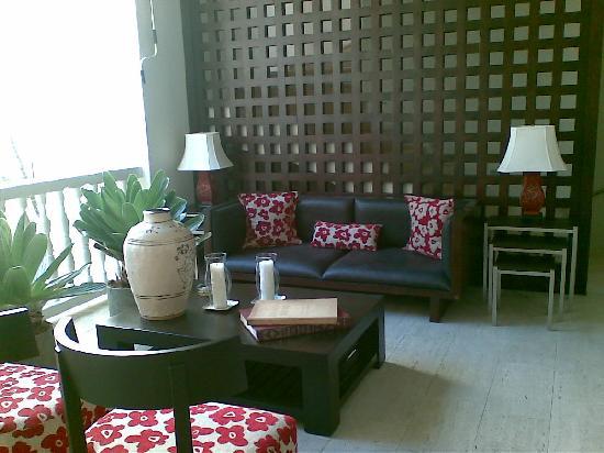 HOTEL LM: zona de lectura