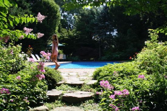 A Butler's Manor: near the pool, in the garden
