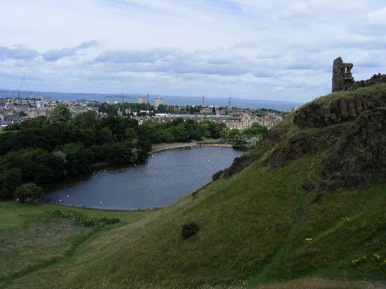 Arthur's Seat: Towards the Firth of Forth