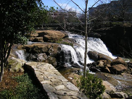 Greenville, SC: the Reedy River Falls