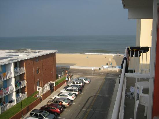 The Spinnaker : View From Balcony - Ocean View