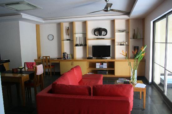 Bali Island Villas & Spa: Living room