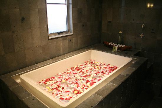 Bali Island Villas & Spa: Bathtub