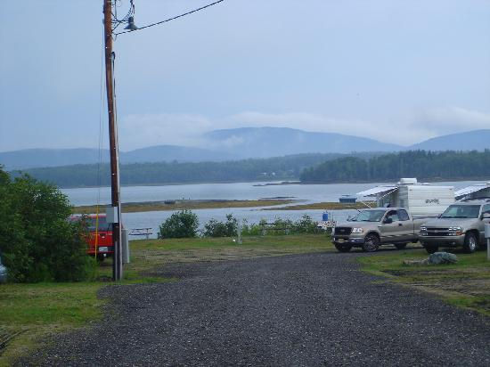 Narrows Too Camping Resort: The view from a site..