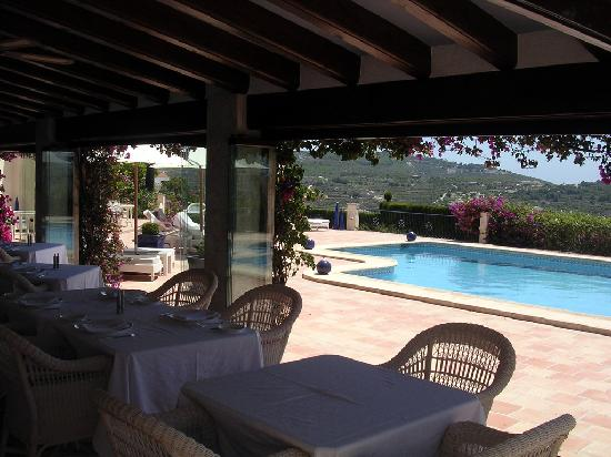 Hotel La Madrugada: Pool from Dining Area