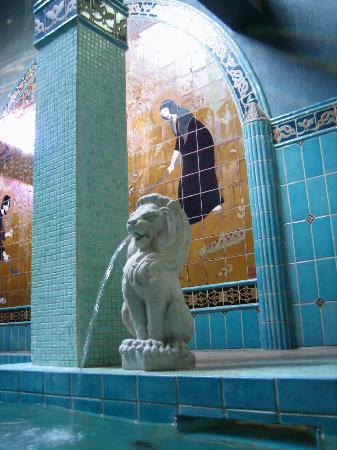 McMenamins Old St. Francis School: turkish bath