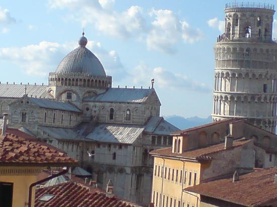 Grand Hotel Duomo : view from roof terrace