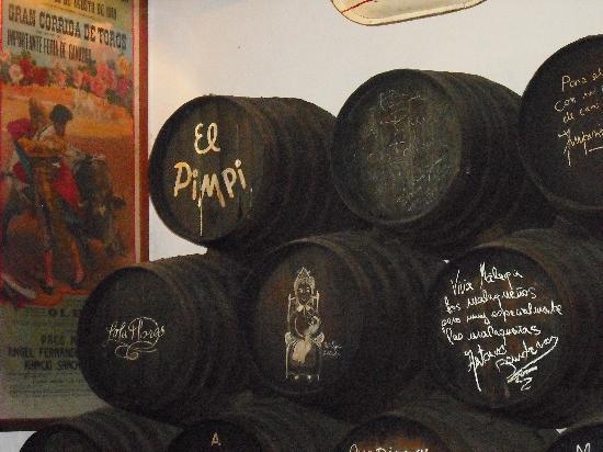 El Pimpi barrels