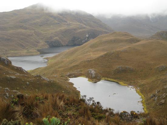 El Cajas National Park (Parque Nacional Cajas) Tres Cruces