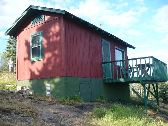 Timberlund's Resort: Cabin #5 Side View