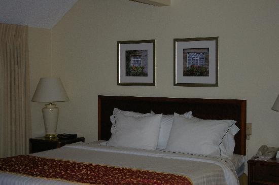 Residence Inn Costa Mesa Newport Beach: vue de la chambre principale