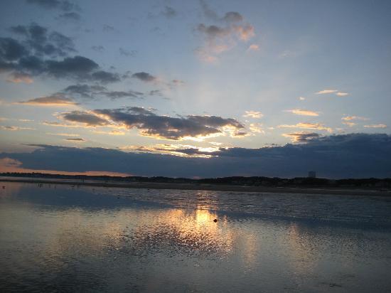 Sandbars on Cape Cod Bay: Cape Cod Bay