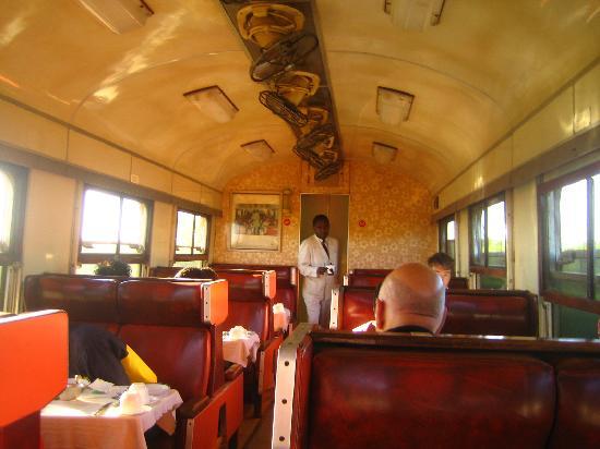 Train S Dining Car Picture Of Kenya Bay Beach Hotel Bamburi
