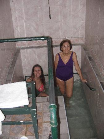 Hotel Termas Pismanta & Spa: Hot springs bathroom