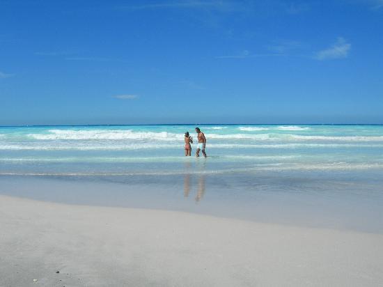 Spiagge bianche ed acqua azzurra