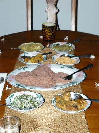Horathapola Estate : Fantastic food