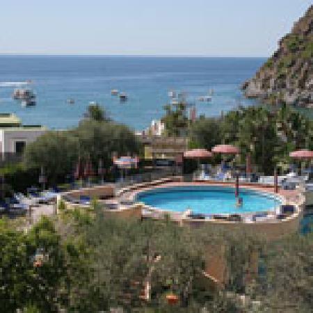 Hotel Zaro: Piscina dell'hotel e vsita Baia s. Francesco