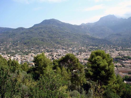 Sóller, España: View Soller