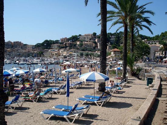 Sóller, España: Playa Puerto de Soller