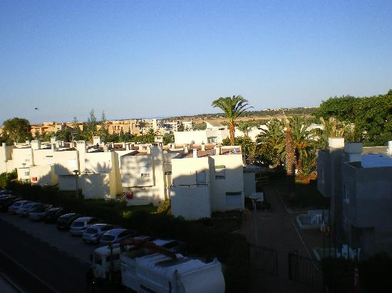 Oasis Village Apartments: view from balcony