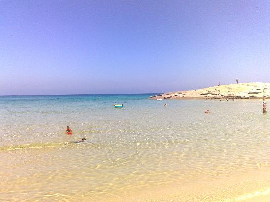 Le Zagare: spiaggia peppino