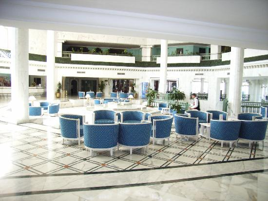 Vincci El Mansour: hall de l'hôtel