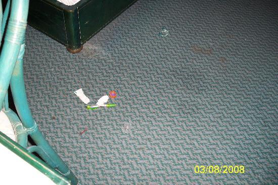 Hotel Albatros : Müll unter dem Bett nach anheben