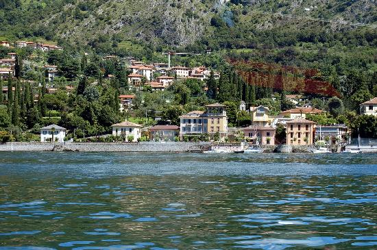 the Villa Marie from the lake - Picture of Hotel Villa Marie ...