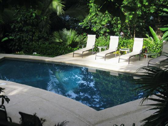 Casas de Soleil: The pool