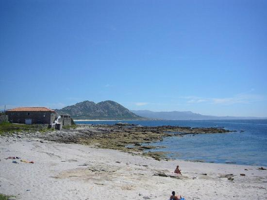 Galicia, España: Praia de Ancoradoiro