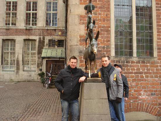Bremen, Alemanha: i musicanti