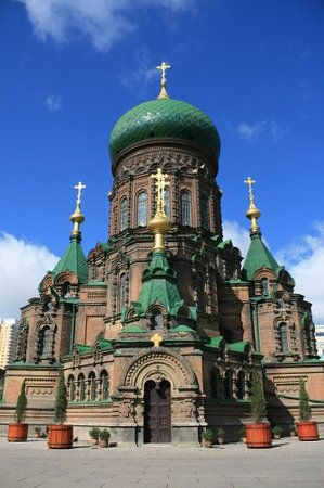Harbin, China: St. Sofia Orthodox Church