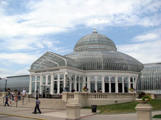 ‪‪Saint Paul‬, ‪Minnesota‬: Conservatory at the Como Zoo‬
