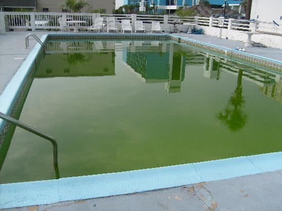 Summer Sands Motel: They said the pool was not usable due to a storm the weekend before