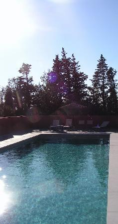 La Calignado: piscine
