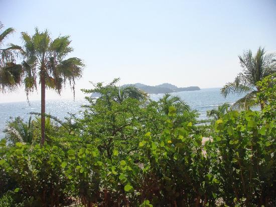 Club Med Ixtapa Pacific: Vista el mar desde la habitacion