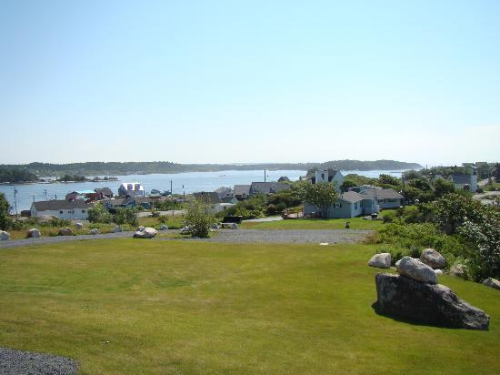 West Dover Harbour View Cottages & Guestrooms: view from cottage