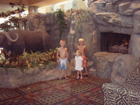 Kalahari Resorts & Conventions: hurry mom, we want to go to the water park!