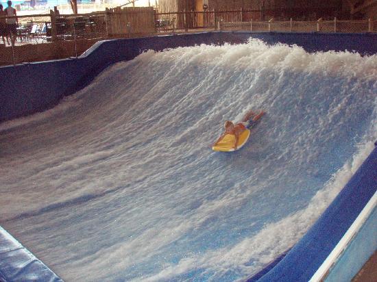 Kalahari Resorts & Conventions: riding the wave!!!