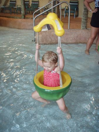 Kalahari Resorts & Conventions: loving the toddler section of the park